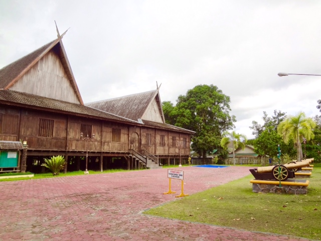Istana Kuning or Yellow Palace, the Former Sultan's Home (Pangkalan Bun, Kalimantan, Borneo, Indonesia)